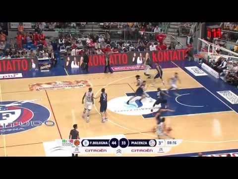 Gli Highlights di Kontatto Fortitudo-Assigeco Piacenza