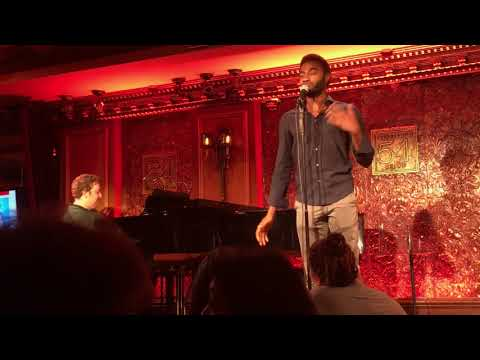 Jelani Alladin discusses booking Frozen and sings Enjoy the Trip