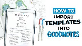 Video ☆ HOW TO IMPORT TEMPLATES INTO GOODNOTES | Helpful Tip & Tricks on the iPad Pro | September Studies MP3, 3GP, MP4, WEBM, AVI, FLV Juli 2018