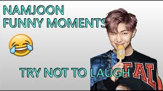 Download Lagu BTS' RAP MONSTER (NAMJOON) FUNNY/EXTRA MOMENTS Mp3