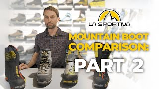 La Sportiva Expidition Mountaineering Boots by WeighMyRack