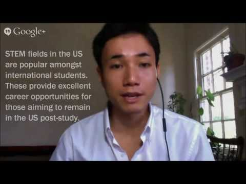 What post-study visa options are available to international students in America?