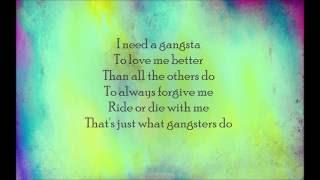 Kehlani - Gangsta (From Suicide Squad  The Album) (Lyric)