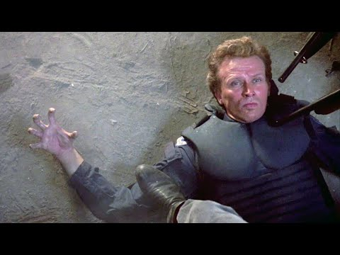 The Death of Alex Murphy (Unrated) | RoboCop (Unrated Director's Cut, 1987) Remastered
