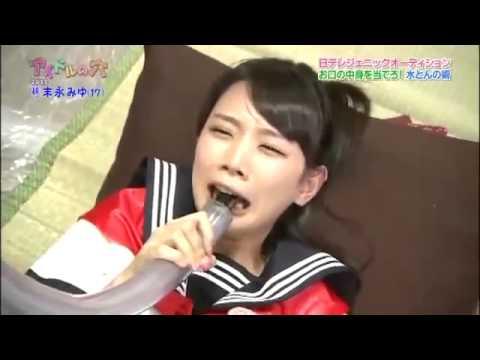 日本變態節目 學生妹被迫吃 XX