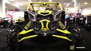 6. 2019 Can Am Maverick X3 XMR 900 Turbo Side by Side ATV - Walkaround - 2018 Toronto ATV Show