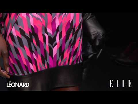 fw - collection movieはhttp://elle.co.jp/elletv レオナール 2013-14秋冬コレクション LEONARD collection in PARIS.