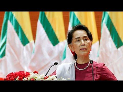 Διεθνή έρευνα για τους Ροχίνγκια προανήγγειλε η Αουνγκ Σαν Σου Κι