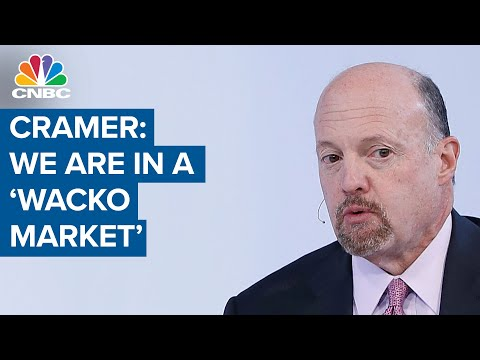 Jim Cramer on stimulus and stocks: We are in a 'wacko market'