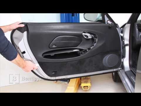 Porsche 911 Carrera (996) 1999-2005 – Door panel DIY, how to remove