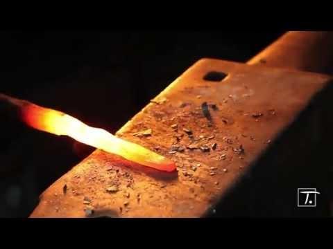 Couteau de poche Vendetta Fabrication Française avec Manche en bois de cocobolo