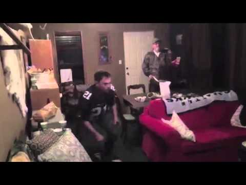 [WATCH] Guy Jumps THROUGH His TV In A Fit Of Rage After His Team Loses The BIGGEST GAME OF THE YEAR!!