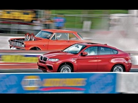 x6 - Ironmein: We subject BMW's latest M-spawned monster to a triathlon and find that 555 horsepower can change opinions about fat SUVs. 2010 BMW X6 M - Road Test...