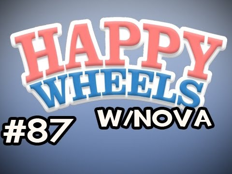 Happy Wheels w/Nova Ep.87 - Raging Coaster Video