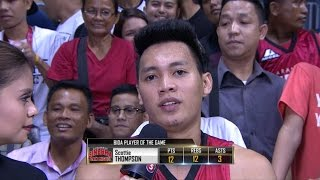 Best Player: Scottie Thompson | PBA Governors' Cup 2016