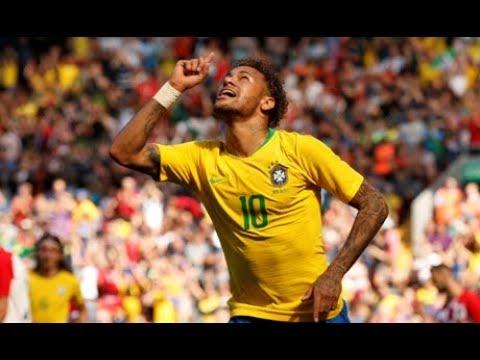 Brazil Vs Croatia (2-0) ● Neymar's Back! Goals & Highlights |HD| Friendly Match 03/06/2018