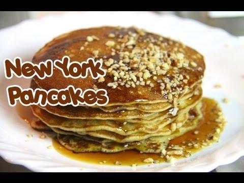 pancakes originali di new york - ricetta internazionale