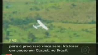 Lei do abate aplicada pela 1ª vez. Caça A-29 Super Tucano da FAB intercepta, abre fogo (tiro de advertência/aviso) e obriga o pouso de avião boliviano ...