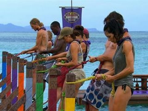 Survivor: Blood vs. Water - Immunity/Reward Challenge:  Back Splash