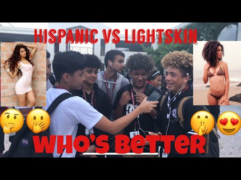 HISPANIC VS LIGHTSKIN |Public interview