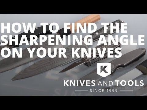 How to find the sharpening angle on ANY knife with ANY sharpening method!