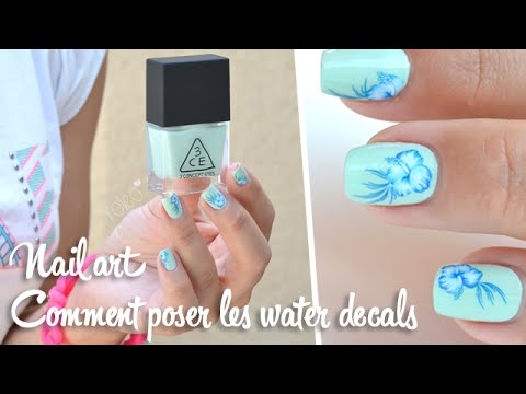 comment poser nail art