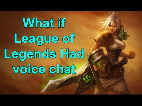 league of legends voice chat gaming