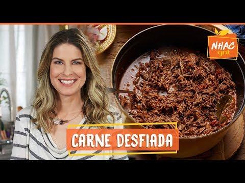 Carne desfiada feita na panela - uma delícia!