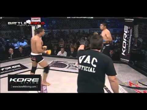 Capoeira MMA Marcus Lelo Aurelio Highlights (видео)