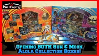 Pokemon Cards - Opening BOTH Sun & Moon Alola Collection Boxes by ThePokeCapital