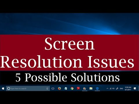 How to fix screen resolution issues in Windows 10 [5 Possible Solutions]