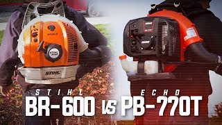 4. Stihl BR-600 vs. Echo PB-770T | Which Is Better?