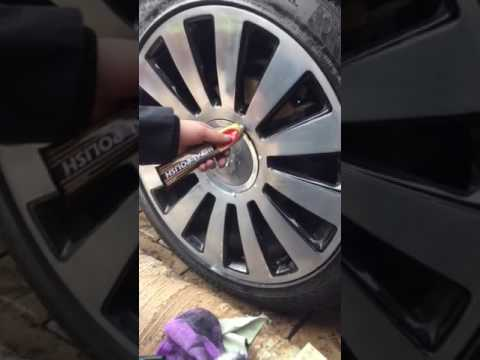 Amateur Chrome Wheel Polishing on Audi A8