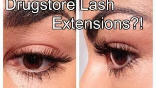 Drugstore Lash Extensions!? ♥ Ardell Starter Kit Review, Tips, & Demo - YouTube