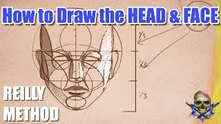 Video How to Draw the HEAD and FACE - REILLY METHOD - Art Tutorial MP3, 3GP, MP4, WEBM, AVI, FLV Juli 2019