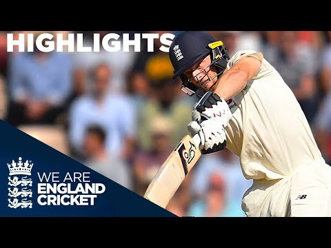 Resilient Buttler and England Frustrate India | England v India 4th Test Day 3 2018 - Highlights (видео)