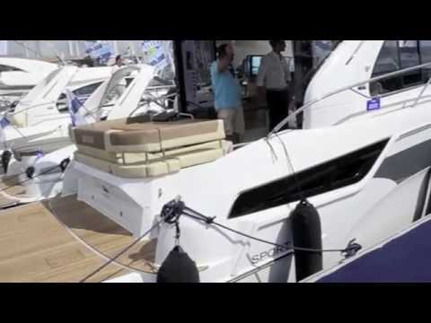 VIDEO: Bavaria 400 Coupe from Cannes Boat Show