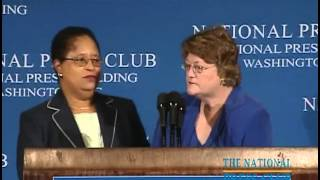National Press Club Luncheon with Shirley Ann Jackson