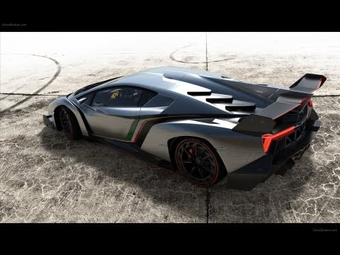 Promo Lamborghini Veneno with Great Exhaust HQ
