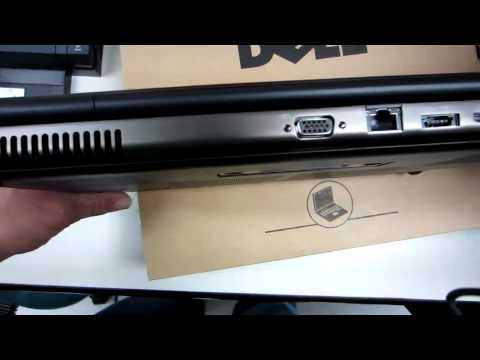 Dell Precision M4600 unboxing