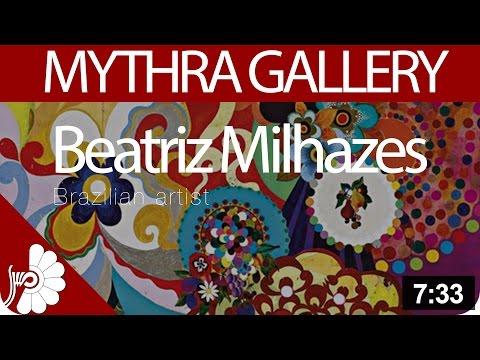 Beatriz Milhazes - Brazilian artist - western Modernist painting