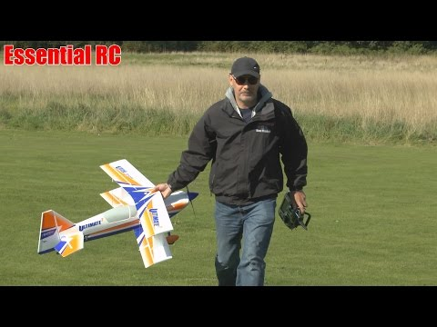 ESSENTIAL RC FLIGHT TEST: E-flite Ultimate 2 (SAFE system landed my plane!)