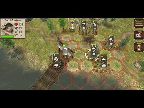 Shogun's Empire: Hex Commander gameplay, Clan Tokugawa Ep 2