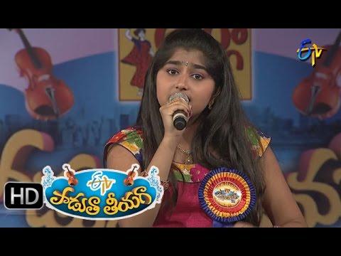 Chinuku-Thadiki-Song--Pranathi-Performance-in-ETV-Padutha-Theeyaga--4th-April-2016