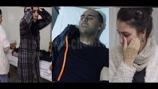 ردة فعل أم مروان ممثل لالة لعروسة لحظة علمها أن ابنها تعرض لكسر في يده