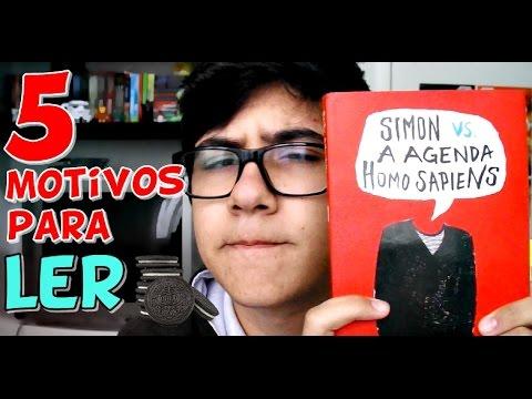 5 Motivos para Ler: Simon VS. a Agenda Homo Sapiens