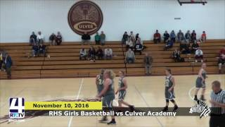 RHS Girls Basketball vs. Culver Girls Academy