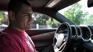 Cain Velasquez - 2012 Camaro SS Test Drive