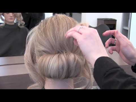Glam Wavy Hair Updo Tutorial