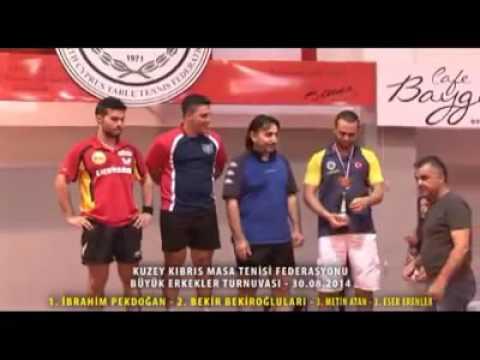 30 Ağustos 2014 Büyükler Turnuvası Ödül Töreni